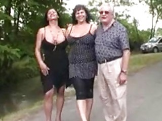 Busty T-milfs Fucked Overwrought Duo Puerile Studs To The Fullest Extent A Finally Old-guy Watches